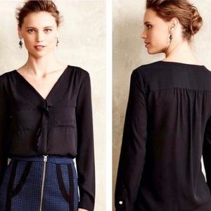 Anthropologie HD in Paris Remi Scalloped Blouse